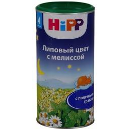 """Hipp чай гранулированный """"Липовый цвет с мелиссой"""" с 4 месяцев"""