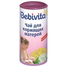Bebivita чай гранулированный детский для кормящих матерей