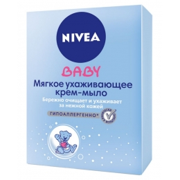 "Nivea крем-мыло ""Мягкое"", 100 г"