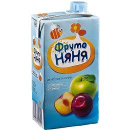 """Фруто Няня нектар """"Яблоко, слива"""" с 5 месяцев, 500 мл"""