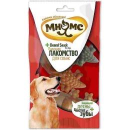 """Мнямс лакомство для собак """"Крокодил коричневый, зеленый, оранжевый"""", 80 мм, 3 шт"""