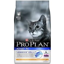 Pro Plan корм для кошек старше 7 лет с курицей, 1.5 кг