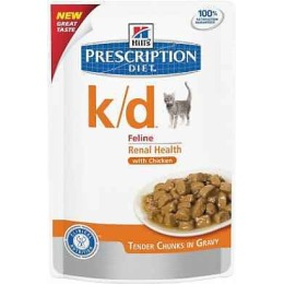 "Hill's корм для кошек ""Prescription diet"" пауч, с курицей, 4x3x85 г"