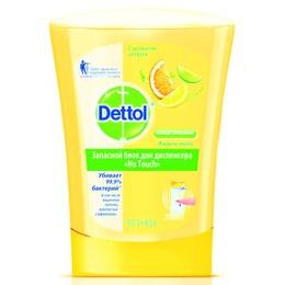 Dettol мыло с ароматом цитруса, запасной блок, 250 мл