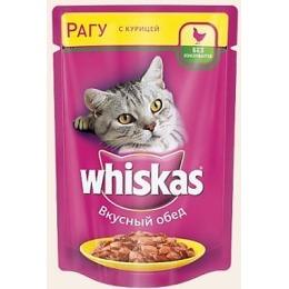 """Whiskas корм """"Рагу. Курица"""", пауч, 85 г"""