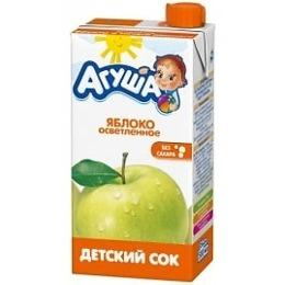 """Агуша сок """"Яблоко"""" осветленный, 500 мл"""