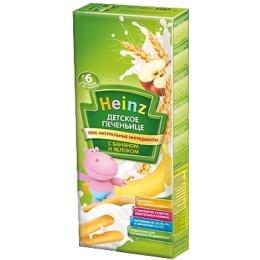 """Heinz печенье детское """"Яблоко, банан"""", 160 г"""