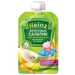 """Heinz пюре """"Фруктовый салатик"""" пауч, 100 г"""