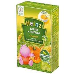 """Heinz кашка """"Пшенично-кукурузная с тыквой"""", 200 г"""