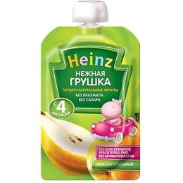 "Heinz пюре ""Нежная грушка"" пауч, 100 г"
