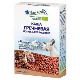 Fleur Alpine каша гречневая, козье молоко, 200 г