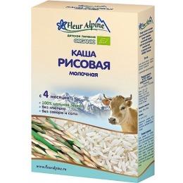 Fleur Alpine каша рисовая, молочная, 200 г