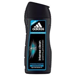 """Adidas шампунь """"Intense Clean Shampoo"""" глубокое очищение для всех типов волос мужской + шампунь с эвкалиптом"""