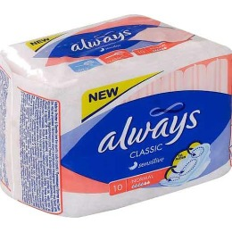 """Always прокладки """"Classic Sensitive Normal Single"""" женские гигиенические"""