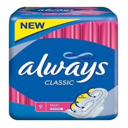 "Always прокладки ""Classic Maxi Single"" женские гигиенические"