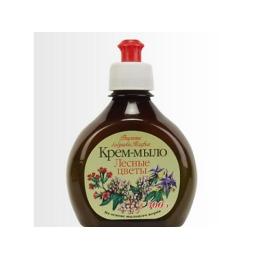 "Рецепты бабушки Агафьи крем-мыло ""Лесные цветы"", 300 мл"