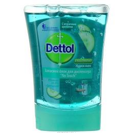 """Dettol жидкое мыло """"No Touch"""" с огуречным ароматом, запасной блок, 250 мл"""