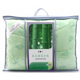 Мягкий сон мягкий сон наматрасник стеганый всесезонный микрофибра бамбуковое волокно 90x200 в чемодане зеленый