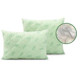 """Мягкий сон подушка """"Бамбук"""" в чемодане, рисунок веточка,  50*70 см"""