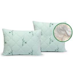 """Мягкий сон подушка """"Бамбук"""" в чемодане, рисунок веточка, 70*70 см"""