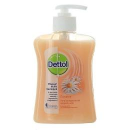 Dettol жидкое мыло с ромашкой и увлажняющим молочком, 250 мл