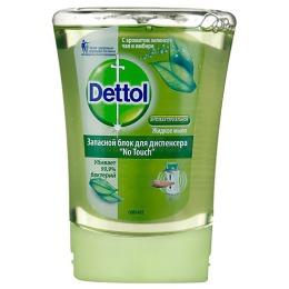 Dettol жидкое мыло с ароматом зеленого чая и имбиря, запасной блок, 250 мл