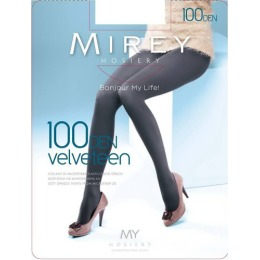 "Mirey колготки ""Velveteen 100"" caffe"