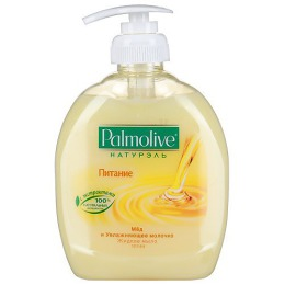 """Palmolive жидкое мыло """"Питание мед и увлажняющее молочко"""", 300 мл"""