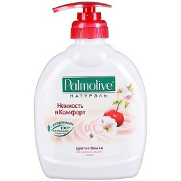 """Palmolive жидкое мыло """"Нежность и комфорт. Цветок вишни"""", 300 мл"""