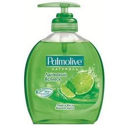 """Palmolive жидкое мыло """"Натурэль. Лаймовый всплеск"""", упаковка с дозатором, 300 мл"""