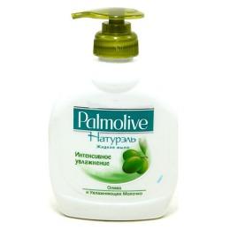 """Palmolive жидкое мыло """"Интенсивное увлажнение. Олива и увлажняющее молочко"""", упаковка с дозатором, 300 мл"""