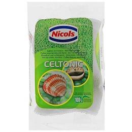 Nicols губка массажная из натуральной целлюлозы, 1 шт