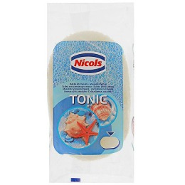 Nicols губка банная массажная, 1 шт
