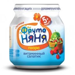 """Фруто Няня пюре для детей """"Витаминный салатик"""""""
