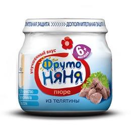 "Фруто Няня пюре ""Телятина"""