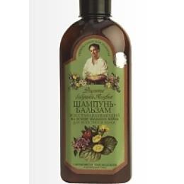 """Рецепты бабушки Агафьи шампунь-бальзам """"Восстанавливающий"""" для всех типов волос"""