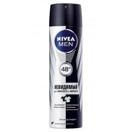 """Nivea дезодорант-спрей """"Невидимая защита для черного и белого"""" мужской"""