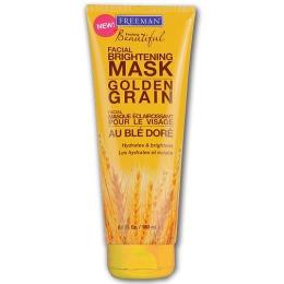 Freeman увлажняющая маска для сияния кожи лица с золотистыми ростками пшеницы, 150 мл