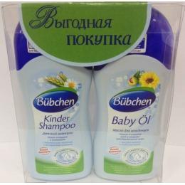 Bubchen шампунь детский, 200 мл + масло для младенцев, 200 мл