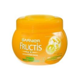 """Garnier маска для волос """"Fructis. Тройное восстановление"""" укрепляющая, для сухих, пересушенных волос, 300 мл"""