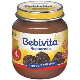 """Bebivita пюре """"Чернослив"""" с 4 месяцев"""