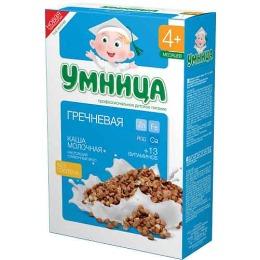 """Умница каша молочная """"Гречневая"""" с 4 месяцев"""
