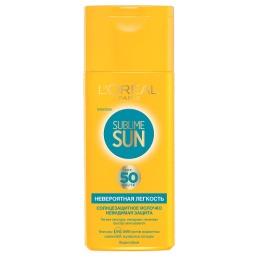 """L'Oreal молочко для тела """"Sublime Sun. Невероятная легкость"""" солнцезащитное, SPF 50"""