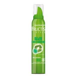 """Garnier мусс для волос """"Fructis Style. Объем и восстановление"""" очень сильная фиксация"""