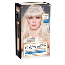 "L'Oreal краска для волос ""Preference. Платина Суперблонд"" 6 тонов осветления"