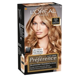 "L'Oreal краска для волос ""Preference. Глэм Лайт"" для мелирования, 138 мл"
