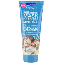 Freeman маска для лица антистрессовая, с солями Мертвого моря, 150 мл