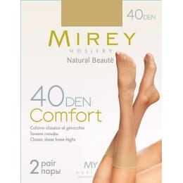 """Mirey гольфы """"Comfort 40"""" nero"""