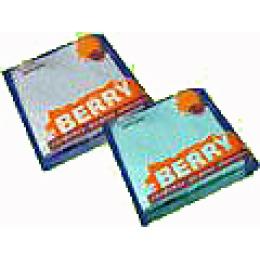 """Berry салфетки 1-слойные цветные """"Эконом"""" 24х24см"""