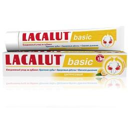 """Lacalut зубная паста """"Basic"""" с цитрусом"""